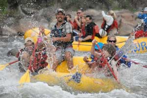 white water rafting aspen